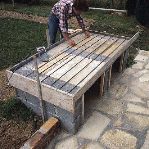 Construction Plan De Travail Brillant Plan De Barbecue Exterieur
