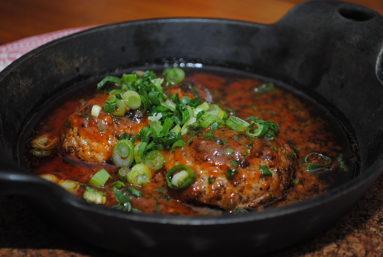 Restaurant Chient Fumant    Testicules de boeuf BBQ / BBQ beef testicules