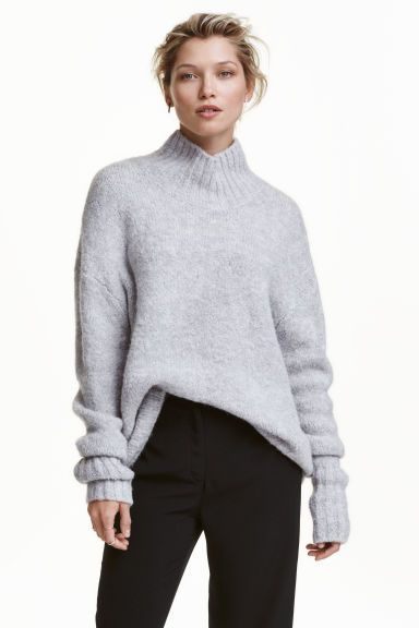 9a956658b58c2a Knitted polo-neck jumper | wish list | Sweater shop, Turtle neck ...