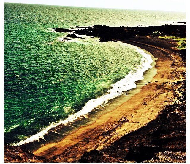 Half Moon Bay; Big Island Hawaii.
