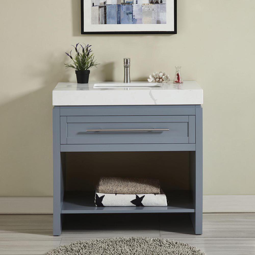 36 Single Sink Bathroom Vanity Bathroom Vanity White Vanity