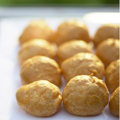 Gruyere Cheese Gougeres Recipe Gougeres Recipe Gourmet Recipes Food Recipes