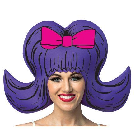 Comic Bouffant Wig Adult Halloween Accessory, Men\u0027s, Multicolor