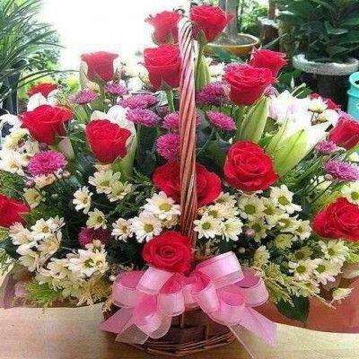 Arreglos Florales De Feliz Cumpleaños Con Bella Combinacion