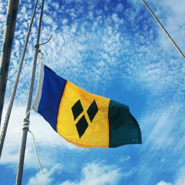 St Vincent The Grenadines Flag St Vincent Grenadines Saint Vincent And The Grenadines Caribbean Islands