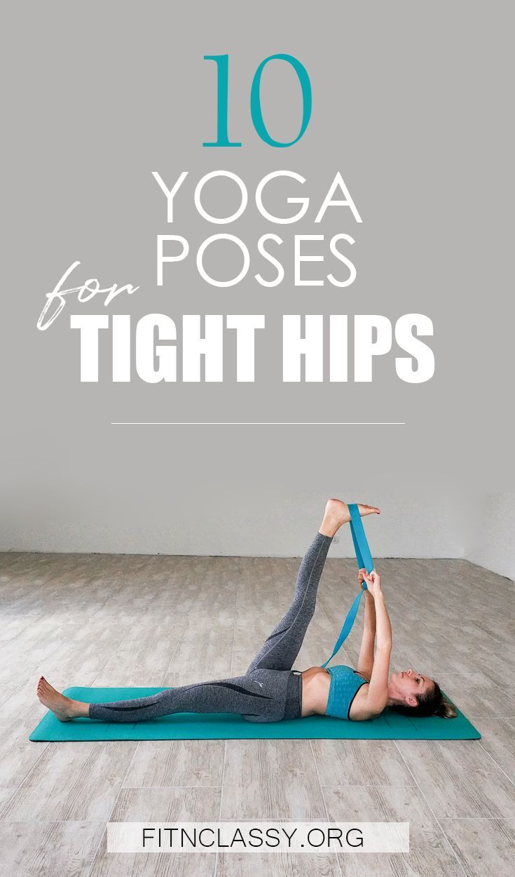 10 Yoga Poses For Tight Hips & Hamstrings #yoga #fitness #stretching #yogaforflexibility #yogaforbeg...