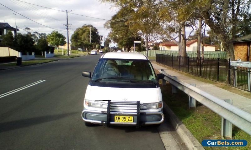 tarago awd van 1990 toyota tarago forsale australia