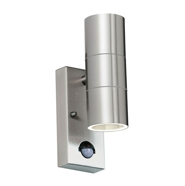 Endon Canon Pir 2lt Wall Outside Light Wall Lights Outdoor Wall Lighting Exterior Wall Light
