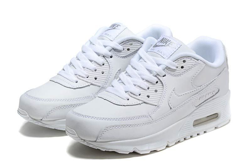 brand new ca62f 22a6f NEED THESE! MY FAV OF ALL TRAINERS! Nike Air Max 90 Womens Shoes White 2021