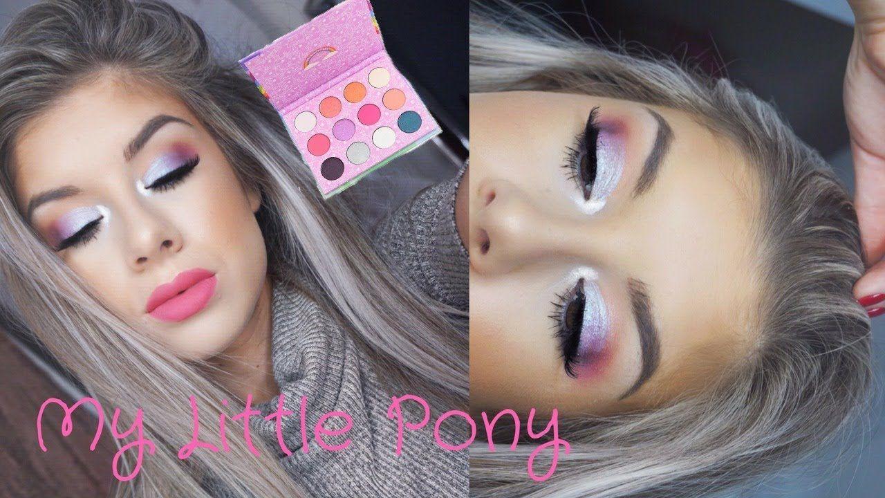 NEW Colourpop My Little Pony Tutorial YouTube Pony