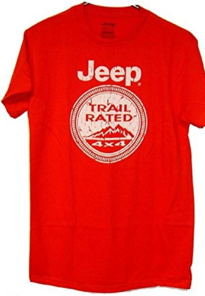 Jeep Trail Rated Limited Edition Tee Shirt Jeep Trails Jeep