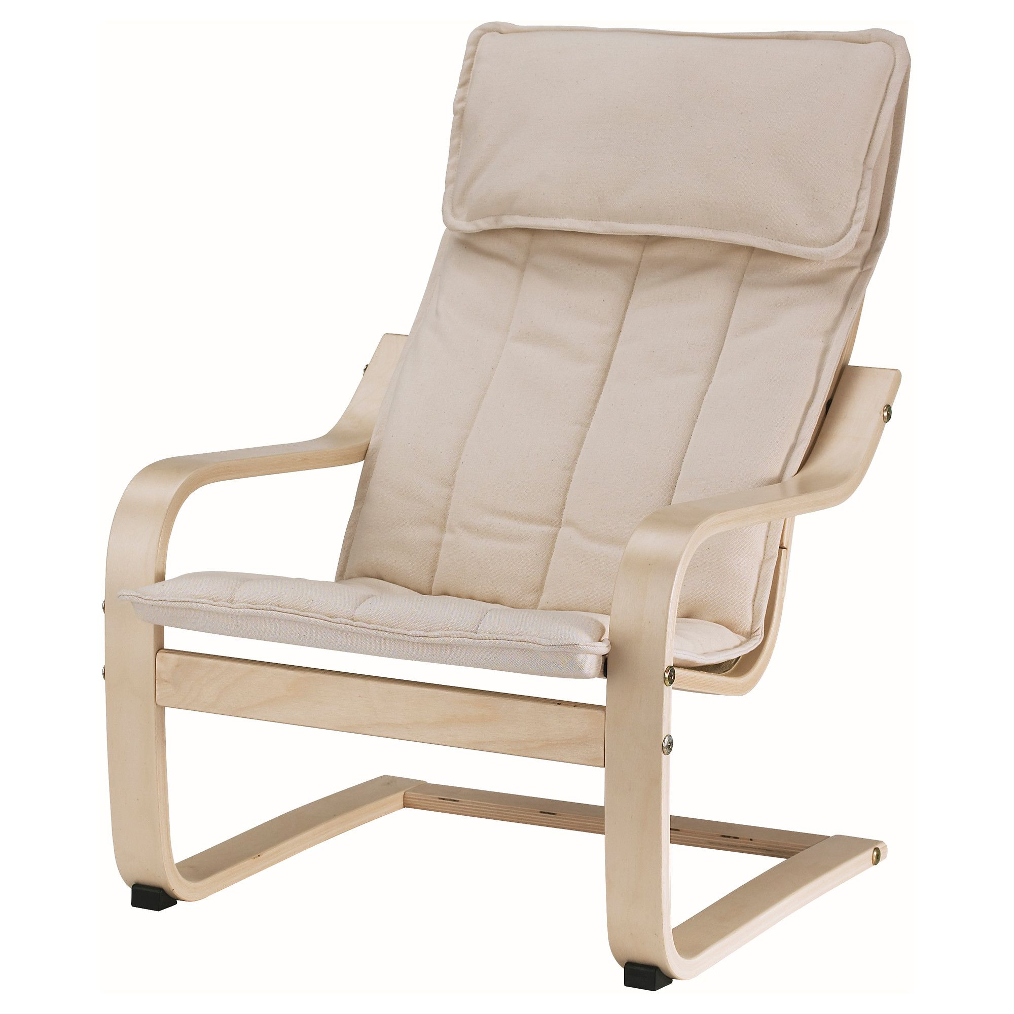 An Ikea Bentwood frame easy chair.