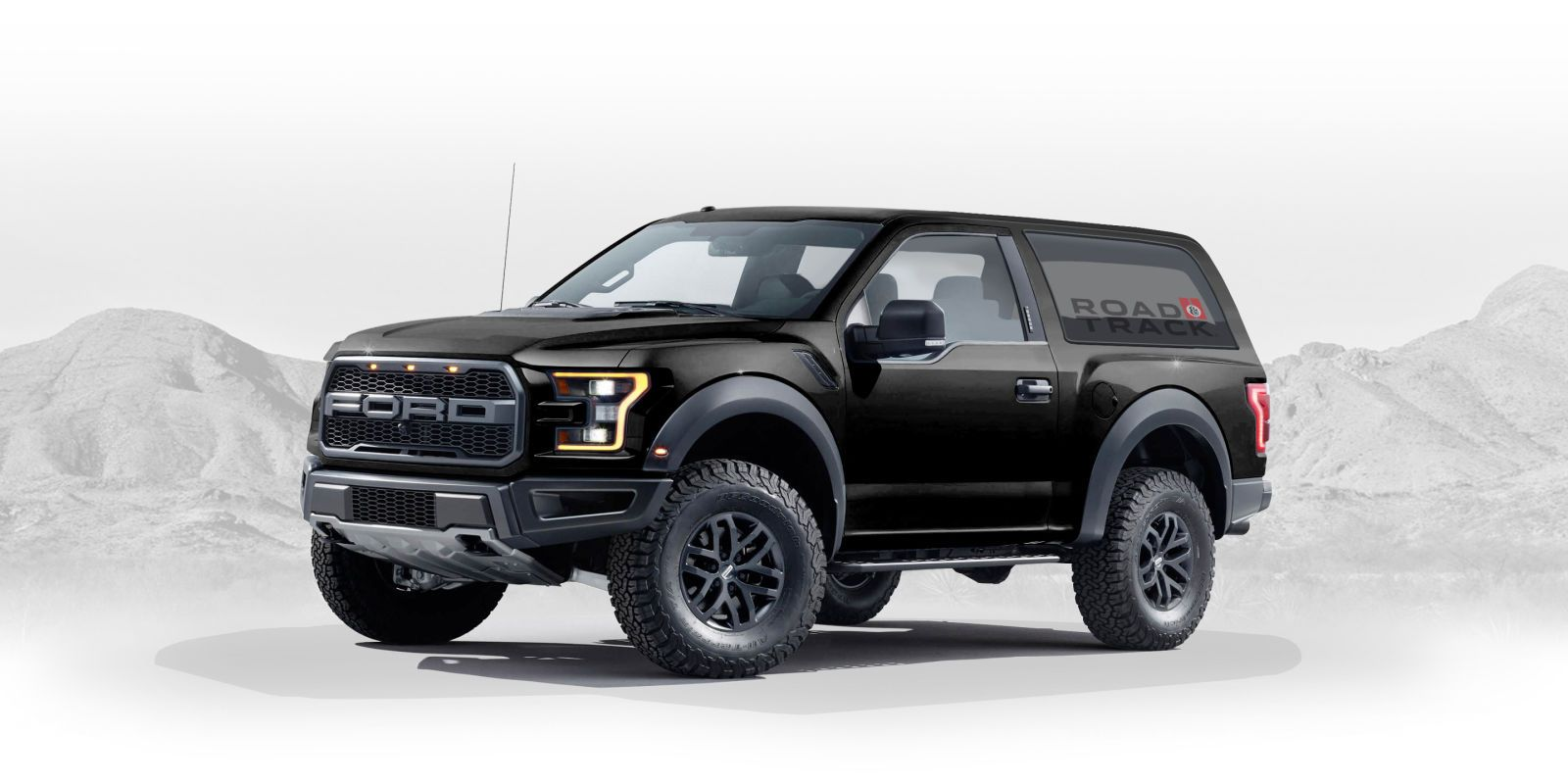 Raptor Based 2020 Ford Bronco Concept Designed By A Fan Is