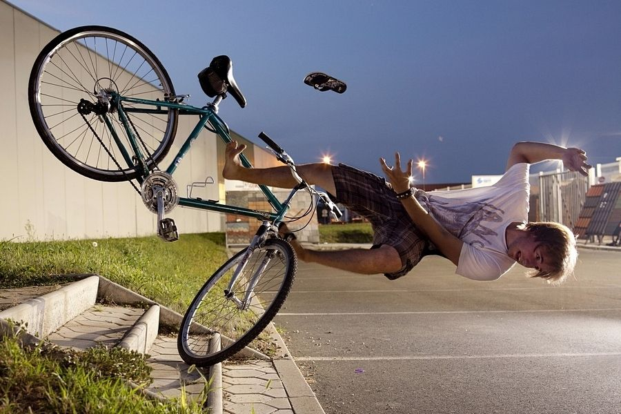Falling Crash Cycling Untitled By Aljaz Bezjak On 500px Bike