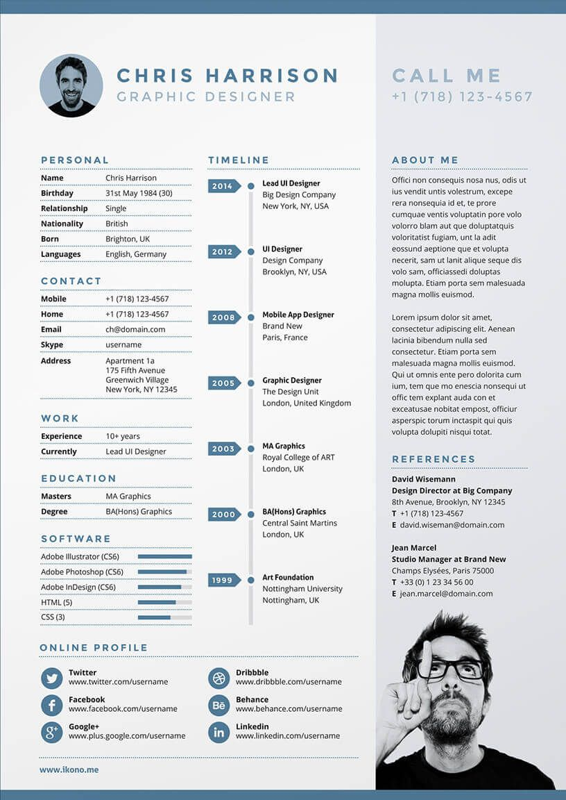 Cv Olof Janssen Cv 0 1 Pinterest Cv Template Template And