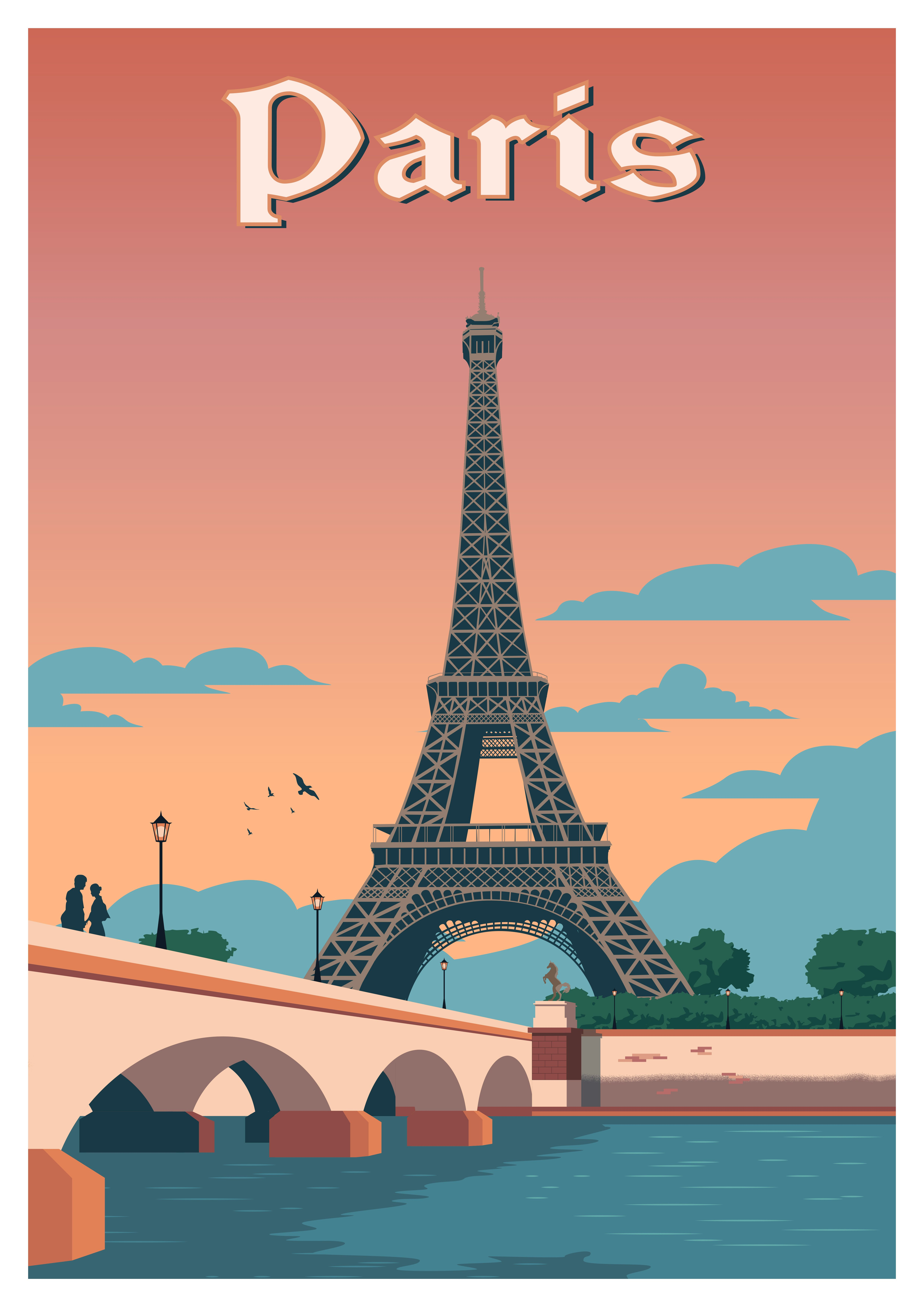 BARCELONA SPAIN TRAVEL ANTIQUE POSTER A1 SIZE PRINT FOR YOUR FRAME ART PAINTING