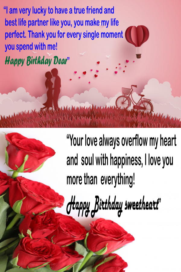 Awesome Birthday Wishes For Wife From Husband Birthday Wishes For Wife Birthday Wishes For Her Happy Birthday Husband Quotes