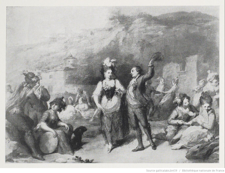 La danse champêtre / [attribué à] Goya