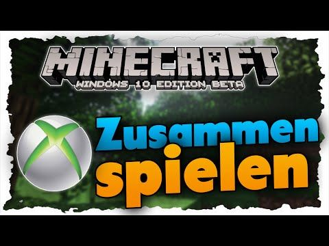 Minecraft Windows Edition Server Erstellen Tutorial - Minecraft lan spielen mit einem account