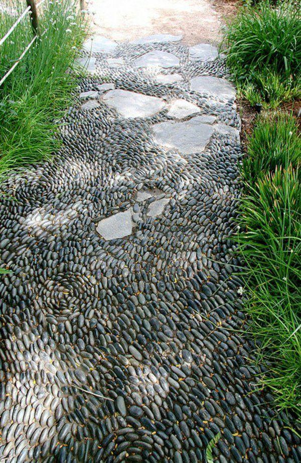 Créer le plus beau jardin avec le gravier pour allée ! | Pinterest ...