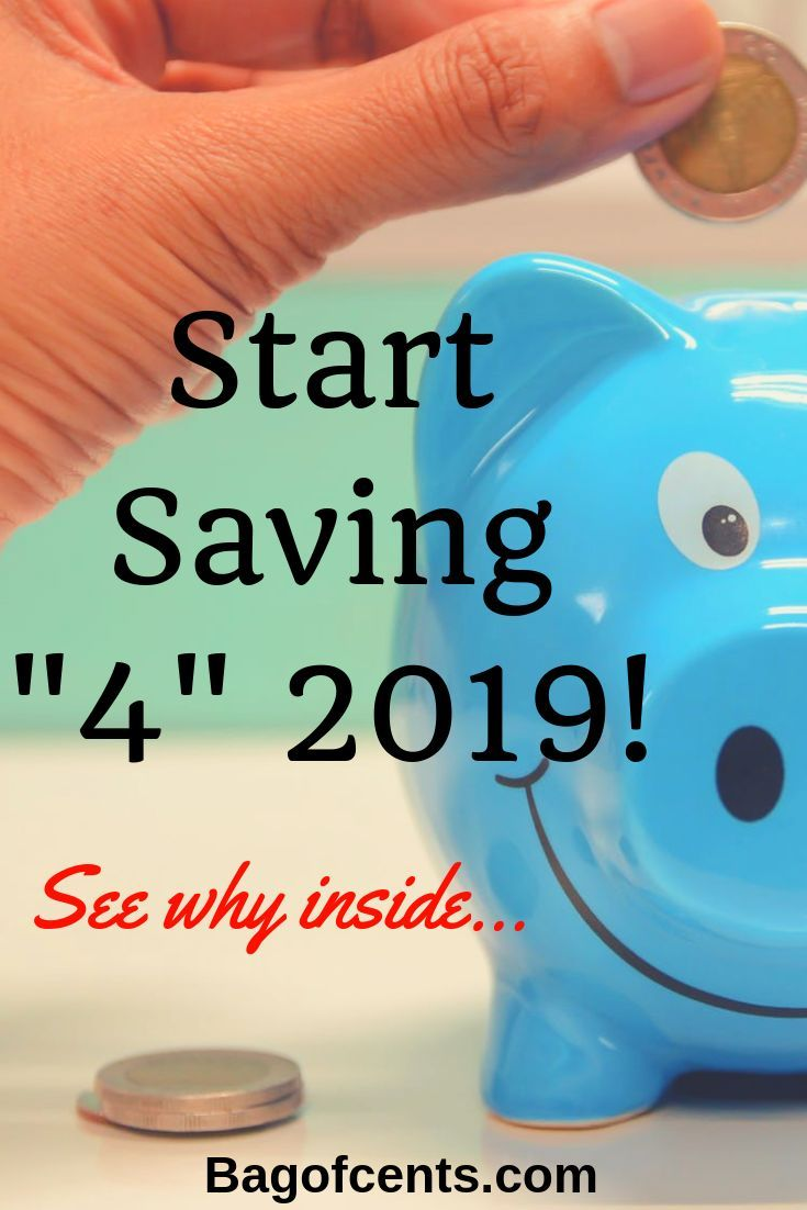 3 Reasons To Start Saving Money In 2019 #startsavingmoney