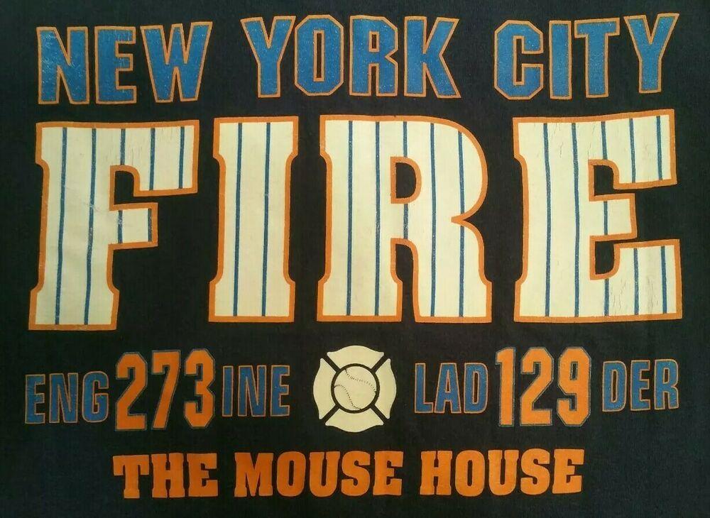 FDNY NYC Fire Department New York City TShirt Sz S FDNY