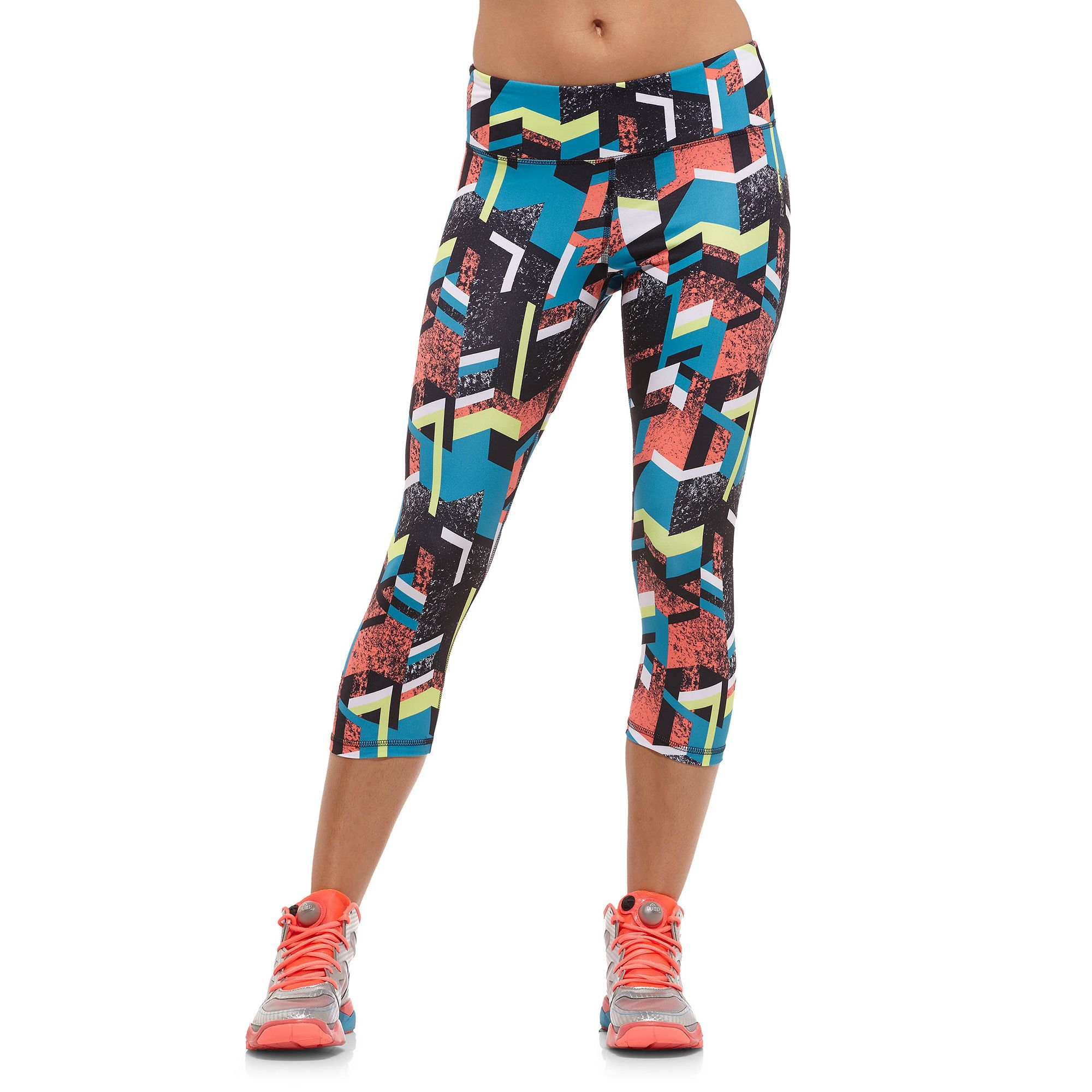want it now!!! Reebok Aerobics Print Capri Reebok GB