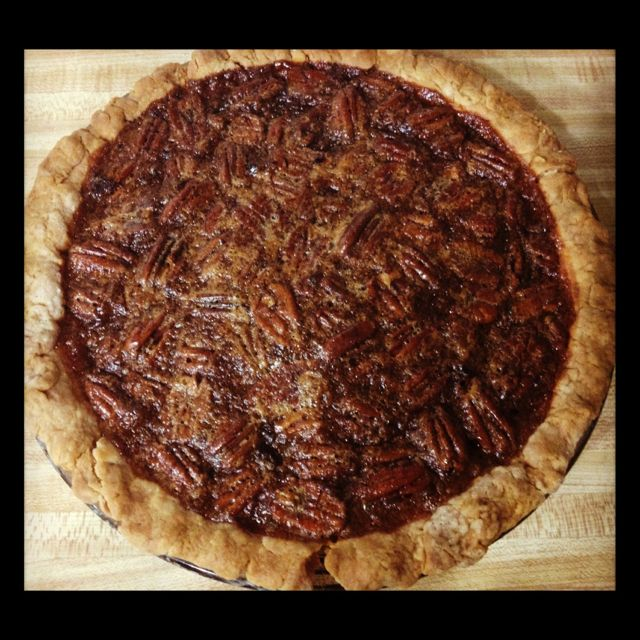Homemade Pecan Pie And Crust From The Pioneer Woman Recipe