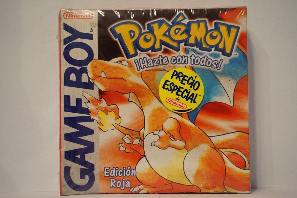 Pokemon Edicion Roja Rojo Nintendo Game Boy Nuevo Sellado Idioma Español Esp Nintendo Gameboy Pokemonroja Pok Gaming Decor Pokemon Gameboy Games Pokemon