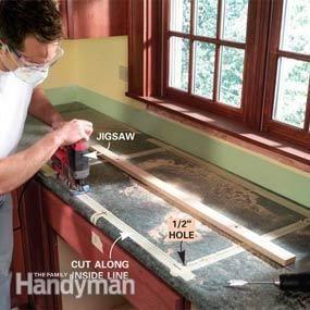 Install A Laminate Kitchen Countertop Kitchen Countertops Laminate Laminate Kitchen Replacing Kitchen Countertops