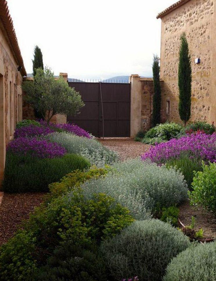80 Simple Minimalist Garden Decor Design In 2020 Minimalist Garden Mediterranean Garden Design Garden Design Layout