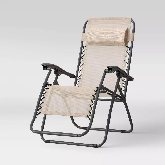 Zero Gravity Patio Lounger Room Essentials In 2020 Patio Loungers Lounge Chair Outdoor Lounger