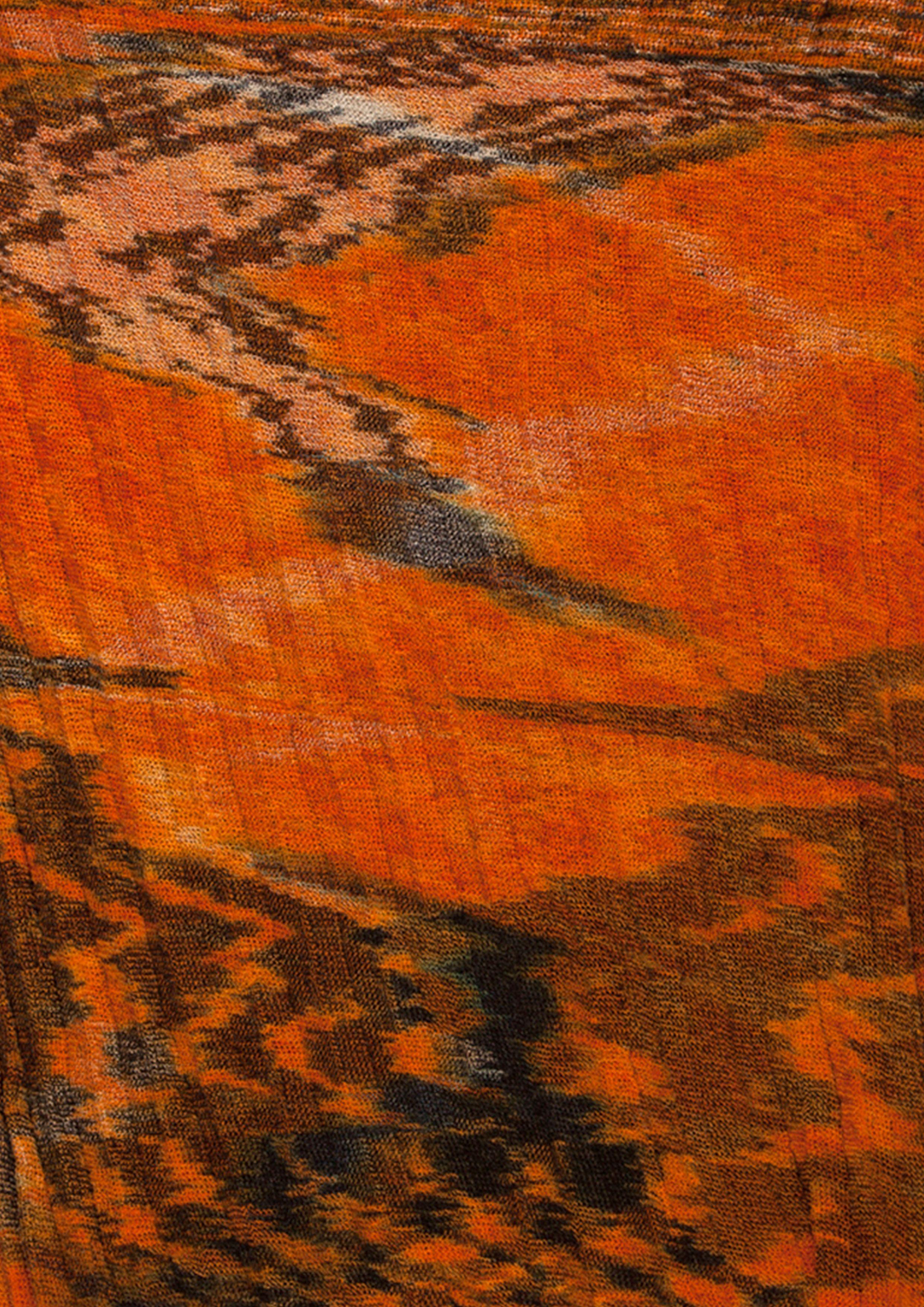 Sarah_Wendler - Animalie - Textile_Design - Graduat Textile Collection - knit - ikat