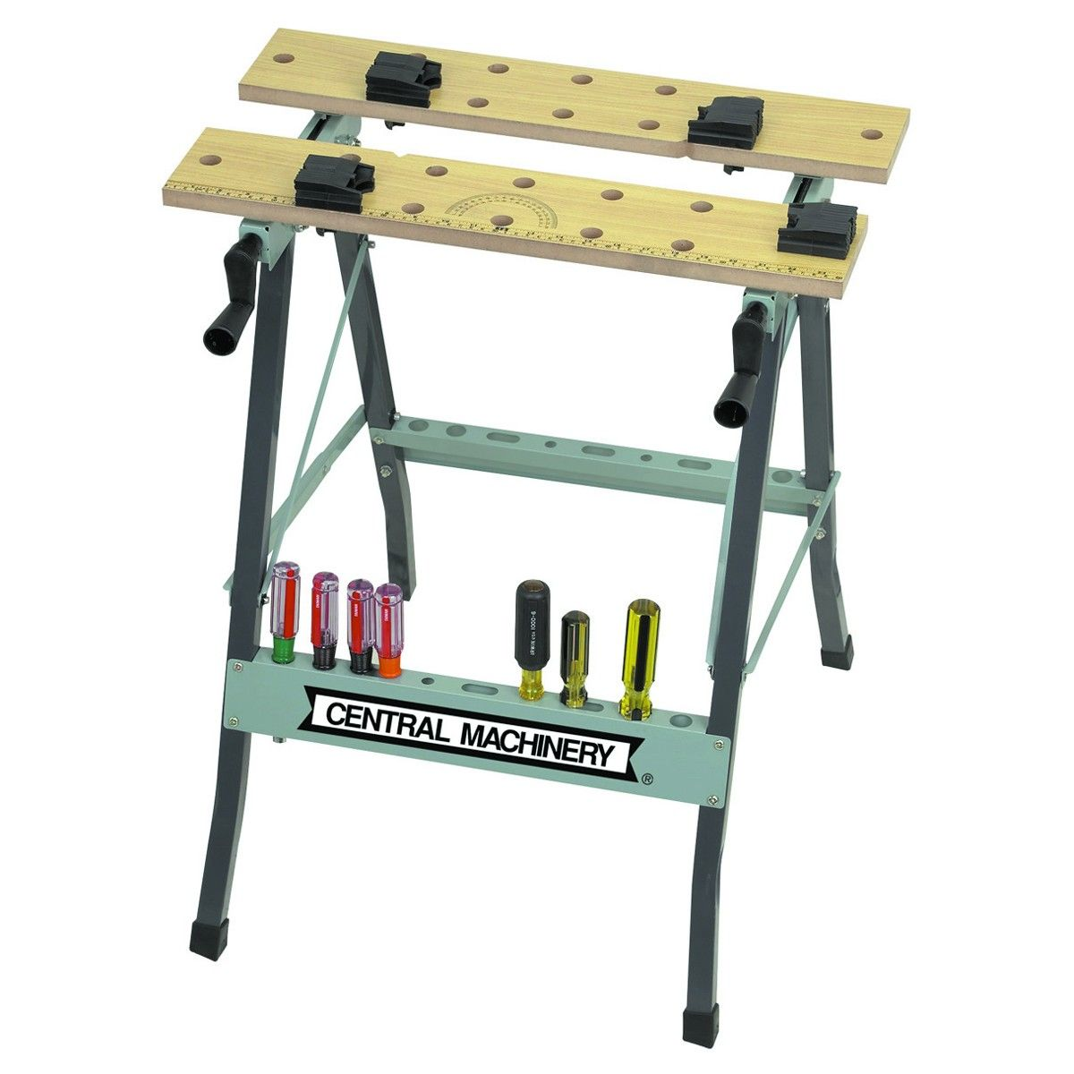 Central Machinery 47844 Folding Clamping Workbench With