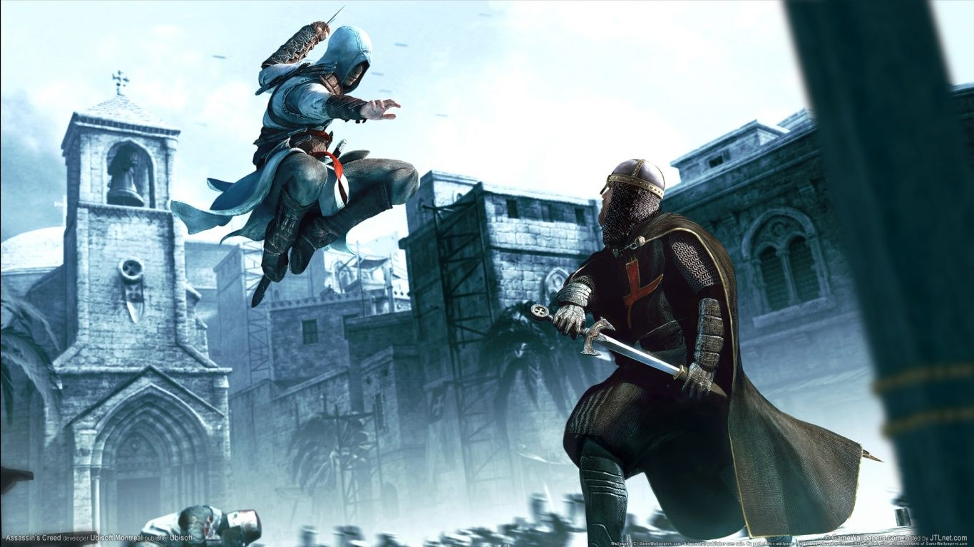 Altair Going For The Kill Assassin S Creed Assassins Creed