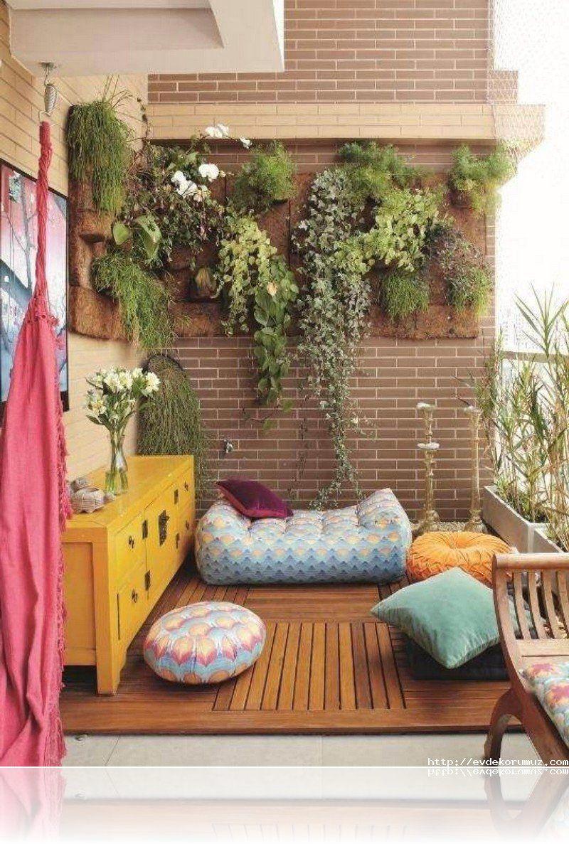 16 Modern Balkon Dekorasyonu Örneği