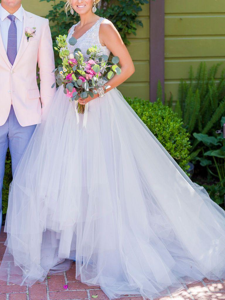 20 Dreamy Blue Wedding Dresses | Blue wedding dresses, Wedding dress ...