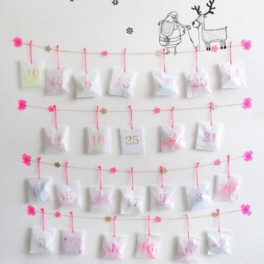 35 DIY Advent Calendar Ideas To Countdown The Days Til Christmas