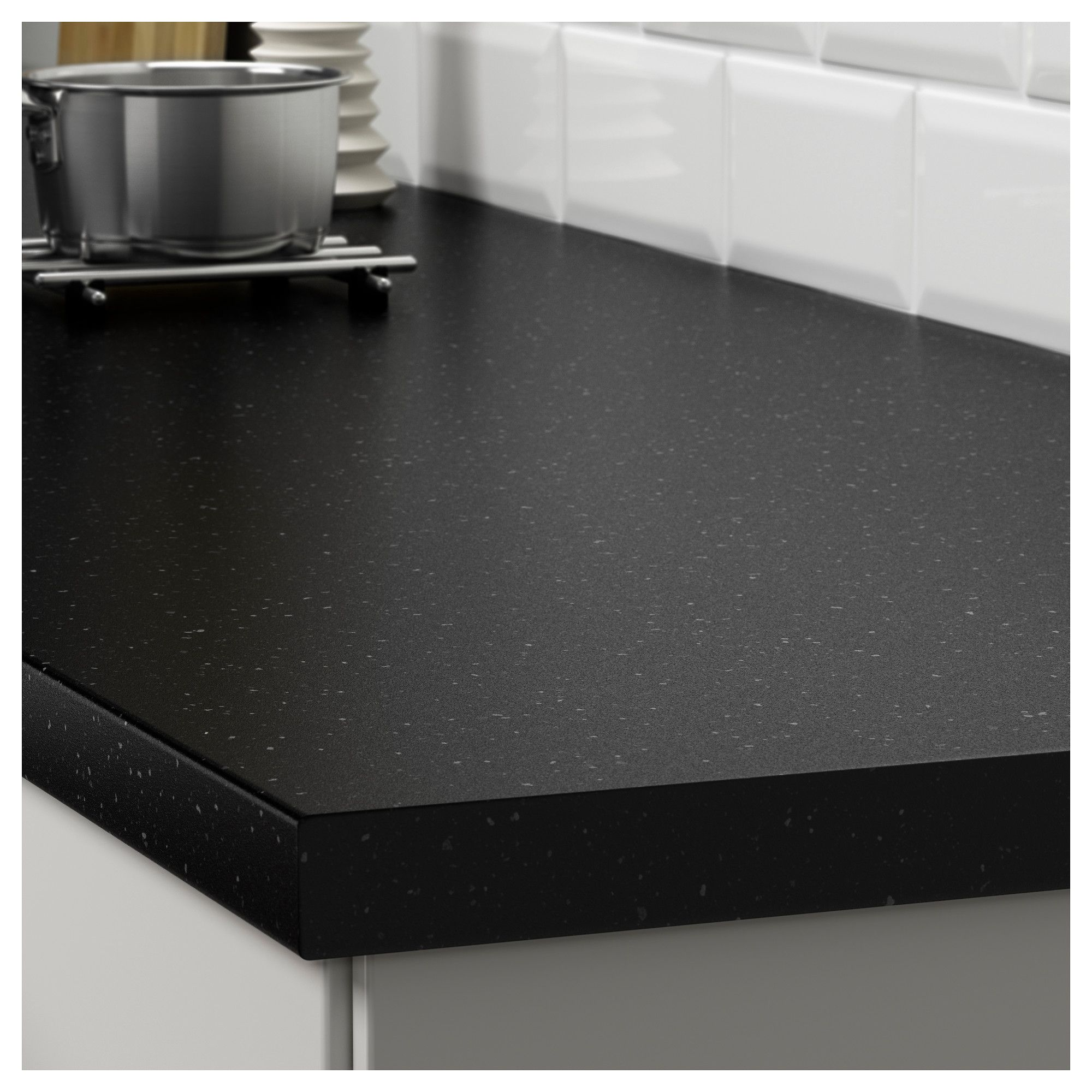 Saljan Countertop Black Mineral Effect Laminate Ikea Laminate Countertops Black Laminate Countertops Kitchen Countertops Laminate
