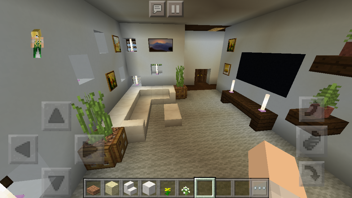 Modern House Play Room Minecraft Interior Design Architecture