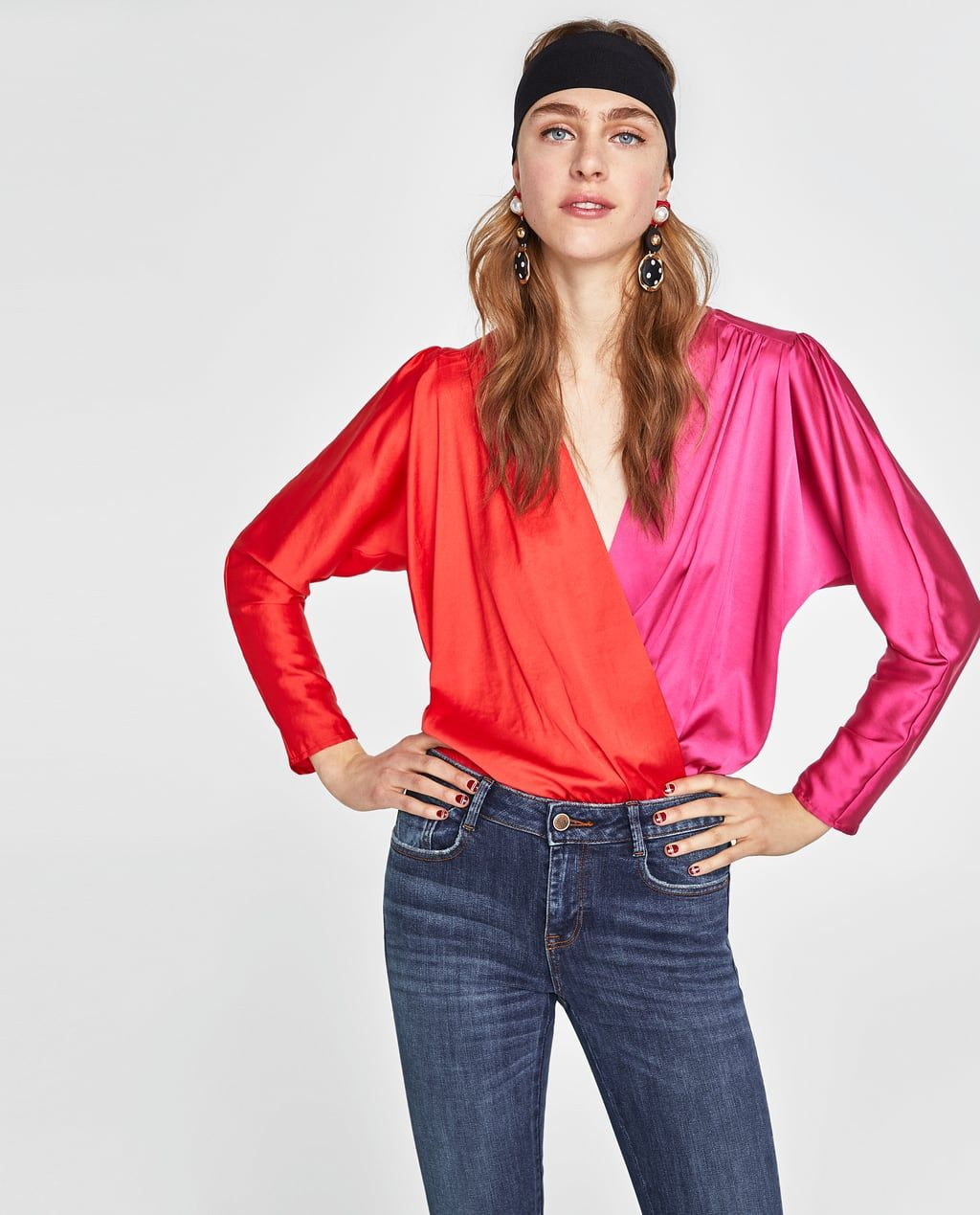 RIPPED SKINNY JEANSNEW INWOMANNEW COLLECTION ZARA
