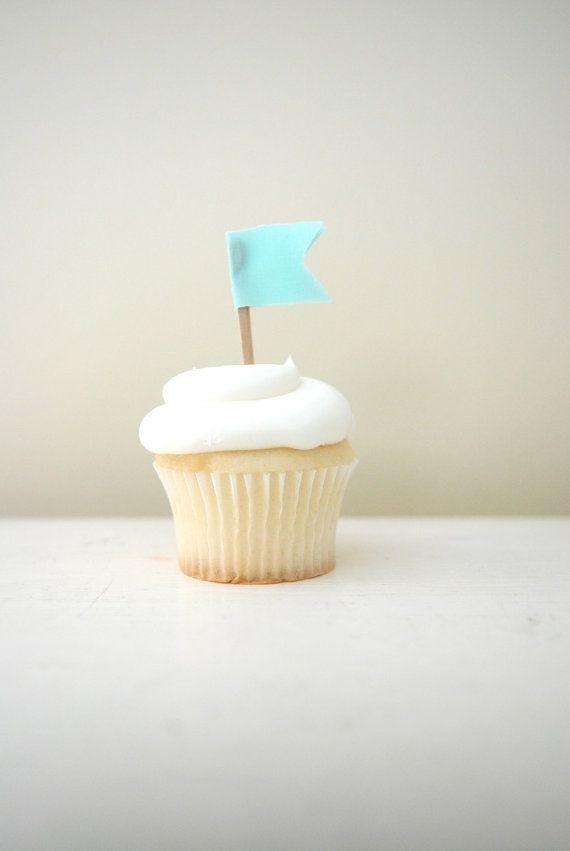 cute cupcake flags