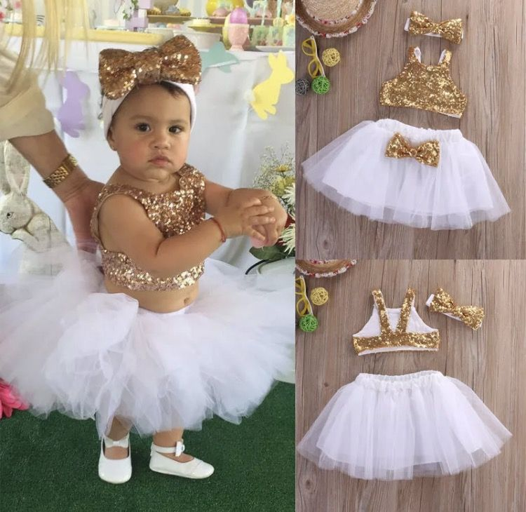 Birthday Baby Girl Outfit First Communion Wedding