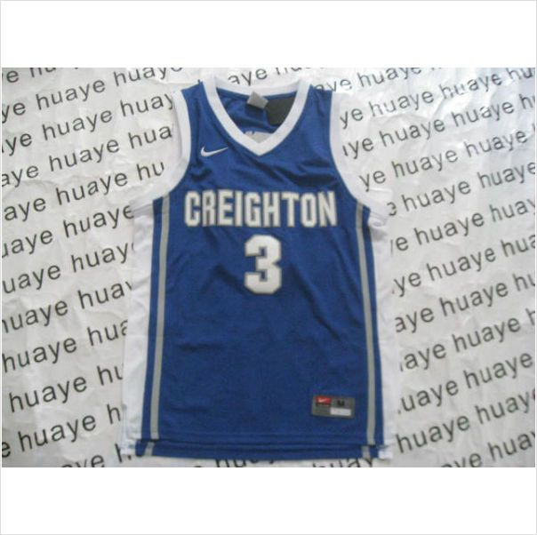 5adb2af6001 Mens Creighton Bluejays Doug McDermott 3 Blue Authentic NCAA Basketball  Jersey on eBid United States