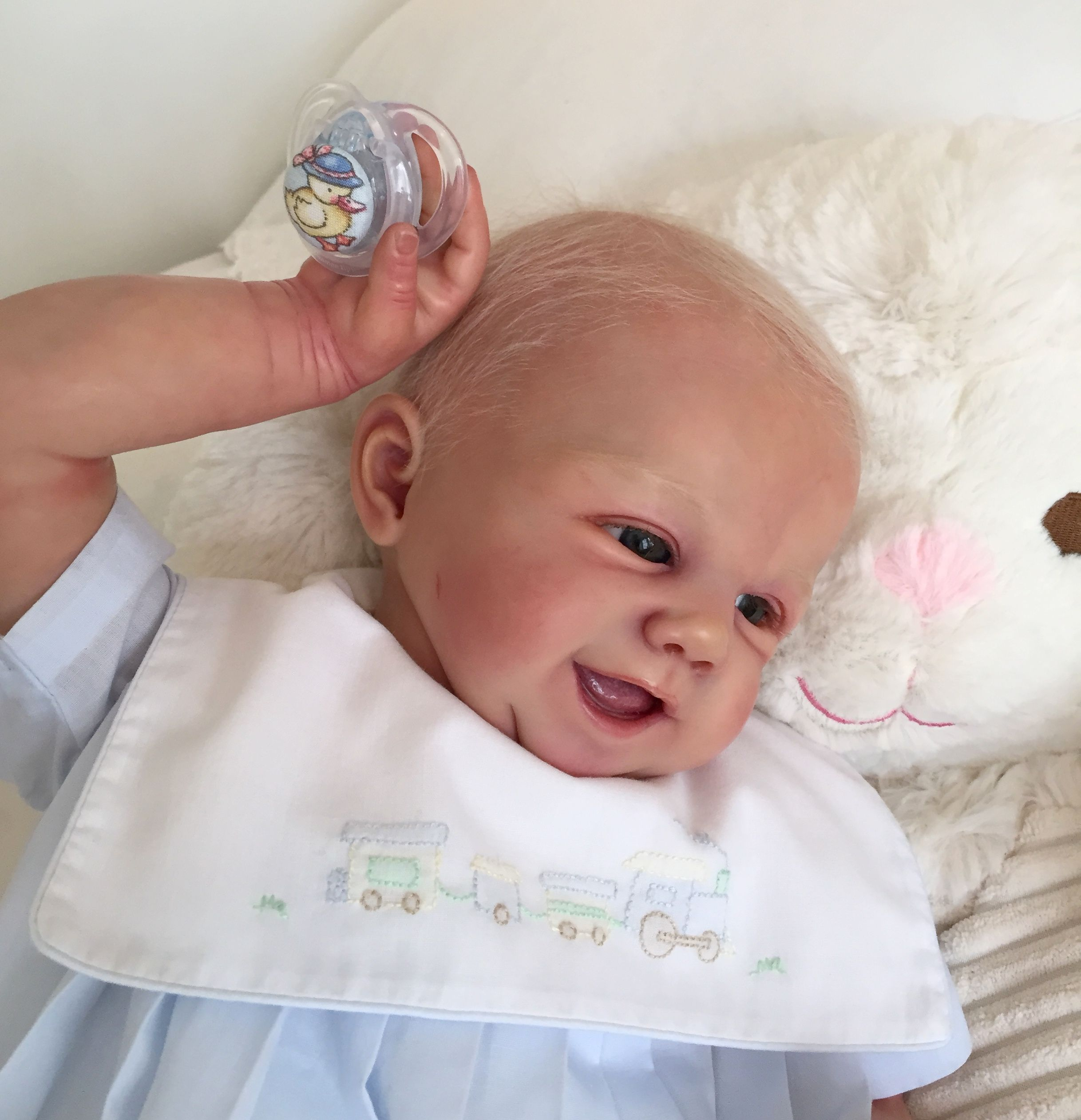 Pin By Nancy Dollar On Parker Realistic Dolls Baby Face