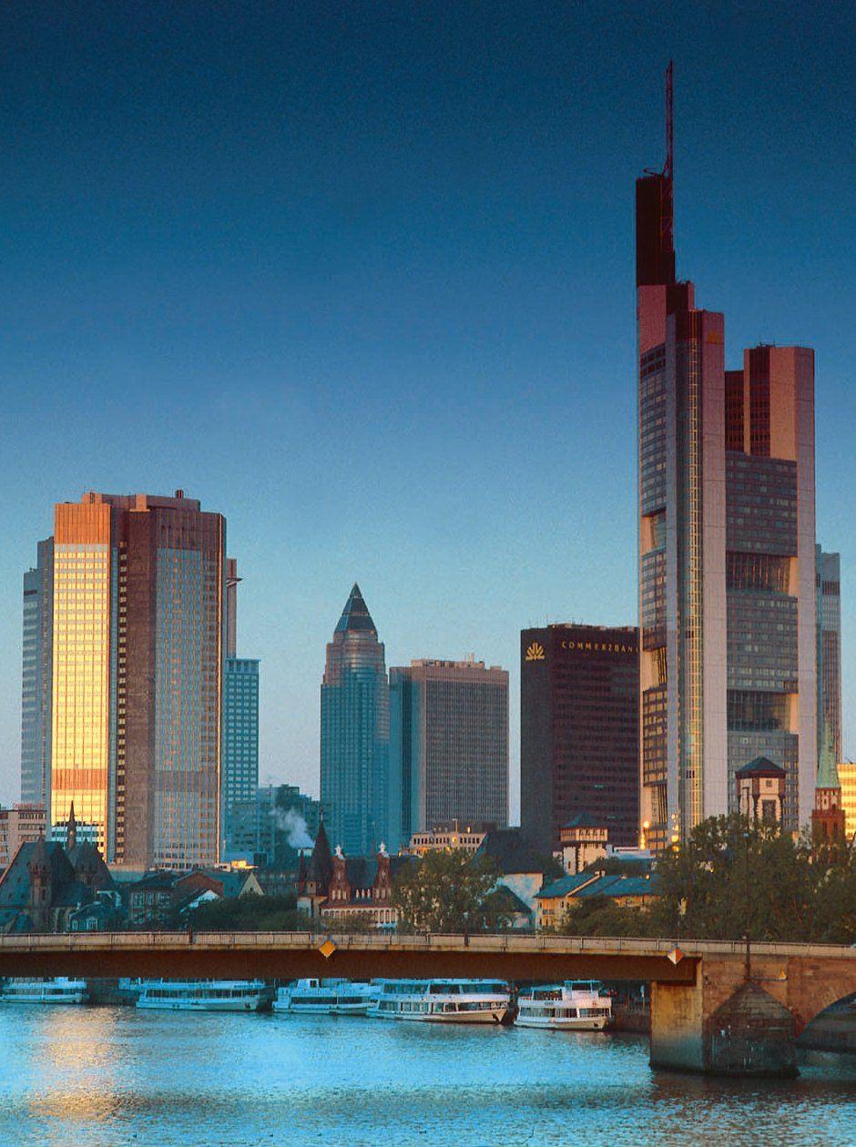 Frankfurt Skyline Deutschland