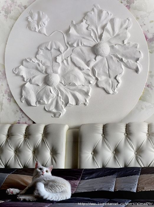 Du relief sur les murs pinterest relief d corations murales et murale - Decoration lettre murale relief ...