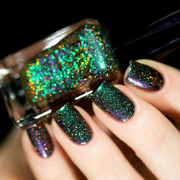 Fun Lacquer - Blessing. So sparkly! | Nail Colors | Pinterest