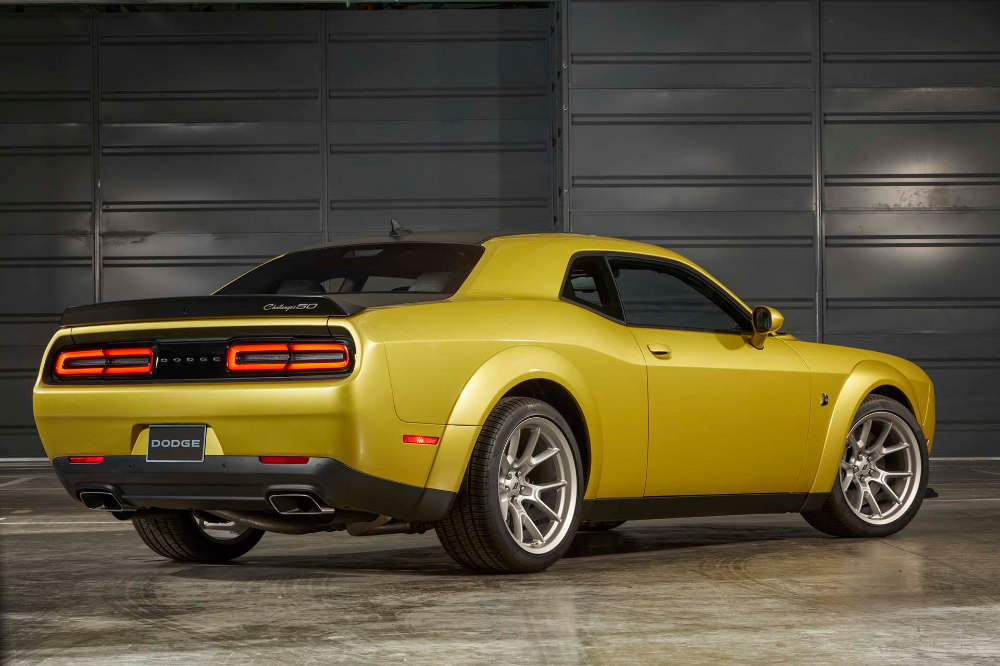 Dodge Marks 50 Years Of The Challenger With Special Edition Dodge Challenger Dodge Challenger
