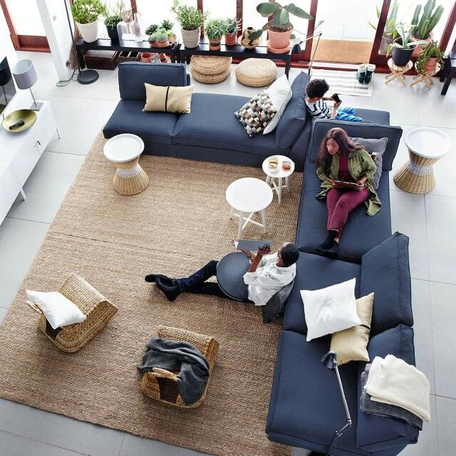 Loving How To Put Sofas Together In Living Rooms, From